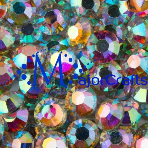 majorcrafts-2000pcs-crystal-ab-4mm-ss16-flat-back-14-facets-cut-resin-rhinestones