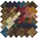 Moda Paint Box Batiks Charm Pack, Set...