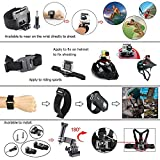 42-in-1 Outdoor Sport Camera Accessories Bundle Kit for Gopro Camera, SJ CAM, and Xiao Mi YI Camera