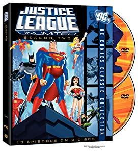 Justice League: Unlimited: The Complete Second Season