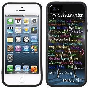 Amazon.com: Cheerleader Cheerleading Handmade iPhone 5 Black Bumper