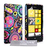 Yousave Accessories Jellyfish Silicone Gel Cover for Nokia Lumia 520