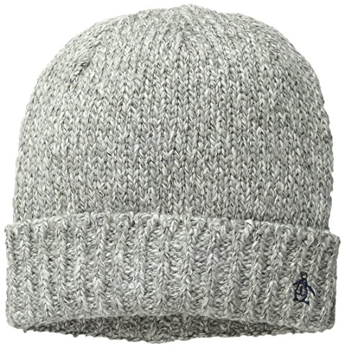 Original Penguin Men's Melange Knit Watchcap, Grey, One Size (39 Fifty Hats compare prices)