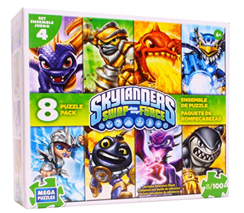 Skylanders Swap Force Puzzle Pack #4 , 8-in-1 Multipack