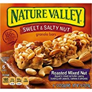Nature Valley Sweet & Salty Nut Roasted Mixed Nut Granola Bars, 1.2 oz, 6 count