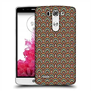 Snoogg Abstract Multicolor Designer Protective Phone Back Case Cover For LG G3 BEAT STYLUS