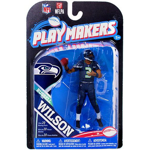 NFL Seattle Seahawks 2013 Playmaker Series 4 Russell Wilson Action Figure at Amazon.com