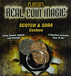 Flosso's Scotch and Soda - Amazing Coin Trick - Metal Bang Ring
