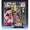 "GINA CARANO ROUND 5 SERIES 4 ""WALKOUTWEAR.COM EXCLUSIVE"" MMA ACTION FIGURE TOY"