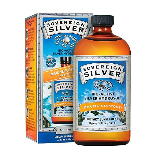 Sovereign Silver-Silver Hydrosol Natural Immunogenics 32 Ounces