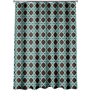 Brown And Teal Shower Curtain Yellow Turquoise Shower Curtain