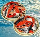 訳あり紅鮭尾小切れ2Kg  味は正規品と一緒です。お得な紅鮭2Kg お弁当サイズ!