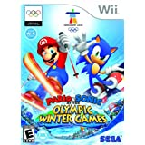 Mario and Sonic at the Olympic Winter Games - Nintendo Wii ~ Sega Of America, Inc.