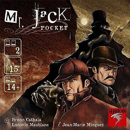 Asmodee - Lfcabc131 - Jeu De Société - Mr. Jack Pocket
