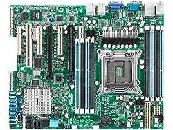 ASUS LGA2011/Intel C602-A PCH/DDR3/SATA3/V&2GbE/ATX Server Motherboard Z9PA-U8