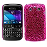 Samrick Chrome Handmade Crystal Gemstone Rhinestone Bling Diamante Protective Case for Blackberry 9790 Bold - Pink