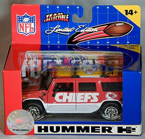2005 Kansas City Chiefs H2 Hummer 1/43 - 1