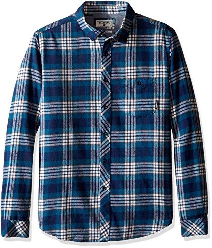 billabong-mens-jackson-woven-short-sleeve-shirt-navy-medium