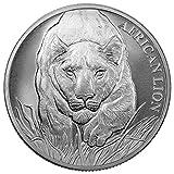 2017 TD African Lion 5000 Francs 1 OZ Gem Uncirculated