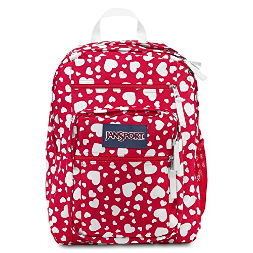 Jansport Big Student High Risk Red Heart To Resist TDN70A5