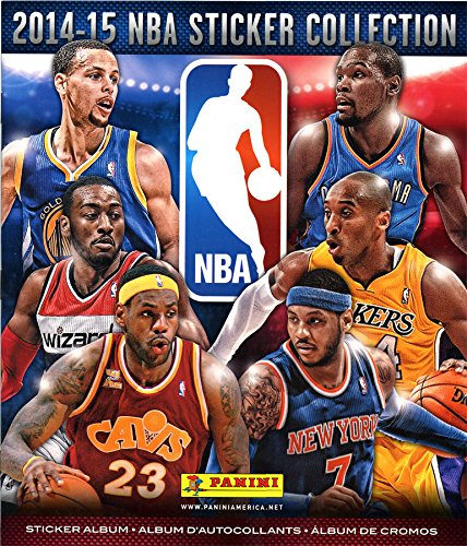 NBA Basketball 2014-15 Sticker Collection 2014-15 NBA Sticker Collection Album - 1