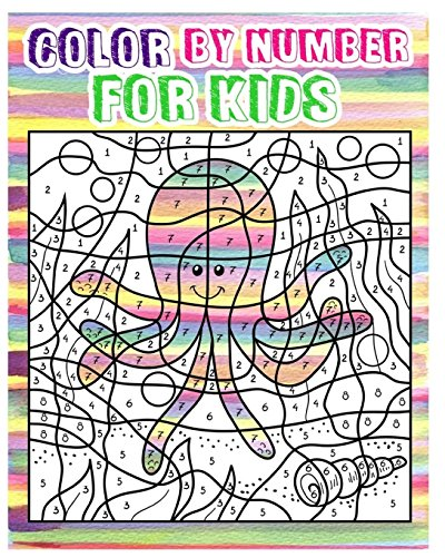 Color By Number for Kids: Animals  Coloring Book For Kids Ages 4-8 (Activity Book For Kids: Dot To Dot Game)(+100 Pages) (Coloring By Numbers For Kids compare prices)
