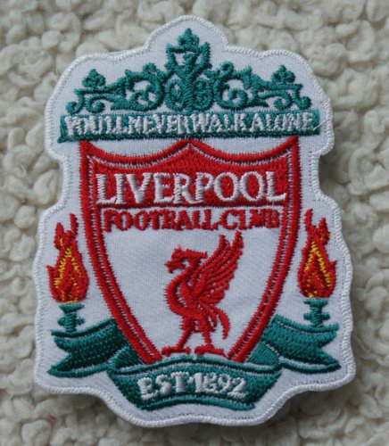 Liverpool FC Iron on Sewing on Embroidered Patch