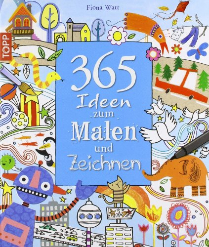365 ideen zum malen und zeichnen buch pdf fiona watt elmoofarbeds. Black Bedroom Furniture Sets. Home Design Ideas