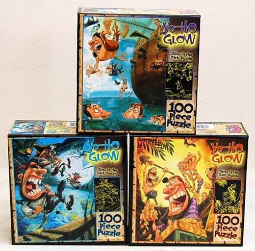"""Ceaco- Puzzle Yo Ho Glow 100pc 11""""x 15"""" - 1"""