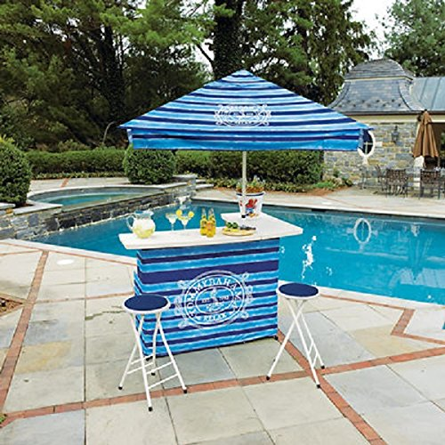 Top 10 best outdoor portable bars with umbrella reviews for Best outdoor umbrellas reviews