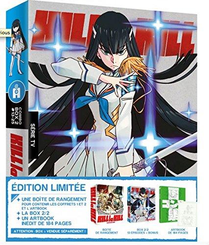 キルラキル コンプリート BOX 2/2(13-25話) [Blu-ray + DVD](海外import版)