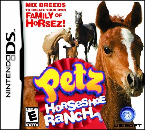 Petz Horseshoe Ranch - Nintendo Ds front-250373