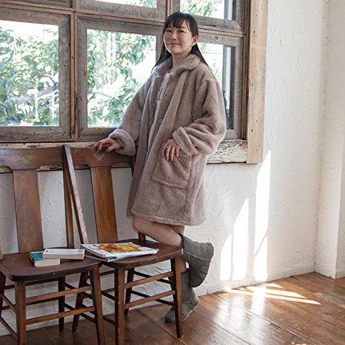 毛布屋さんのつくった 着る毛布 マイクロファイバー ルームウェア フリーサイズ