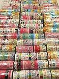 かわいい マスキングテープ マルチ デコ シール 60個 セット 包装 文具 可愛く 飾ります (60個セット)