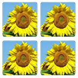 Coasters Sunflower bloom IMAGE 34957617 by MSD Mat Customized Desktop Laptop Gaming Mouse Pad