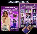 STAR OF VIOLETTA MARTINA STOESSEL 2015 CALENDAR + MARTINA STOESSEL FRIDGE MAGNET