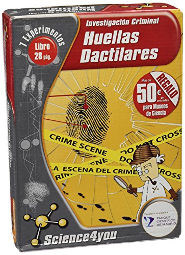 Science4you - Huellas dactilares, 7 experimentos (351)