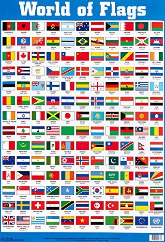 World of Flags Wallchart (Byeway Wall Charts)