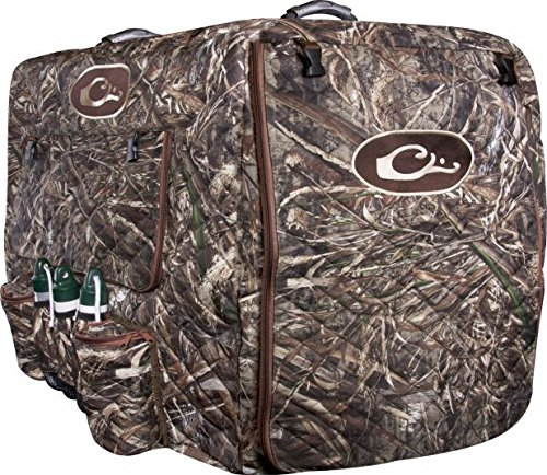 Drake Waterfowl Deluxe Insulated Adjustable Dog Kennel Cover (Realtree Max-5) (Insulated Kennel compare prices)