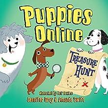 Puppies Online: Treasure Hunt (       UNABRIDGED) by Jennifer Gray, Amanda Swift Narrated by Jot Davies