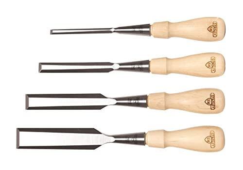 Stanley 16-791 Sweetheart 750 Series Socket Chisel Set, Brown, 4 - Piece via Amazon