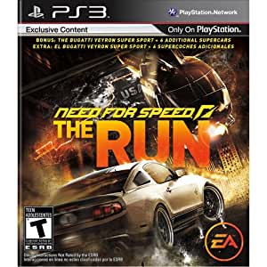 new release car games ps3Need for Speed The Run PS3 Amazonin Video Games
