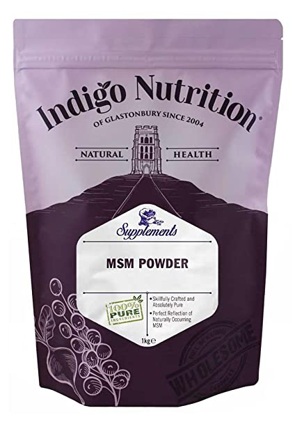 Indigo Herbs - MSM Pulver (Methylsulfonylmethan) - 1kg (1000g)
