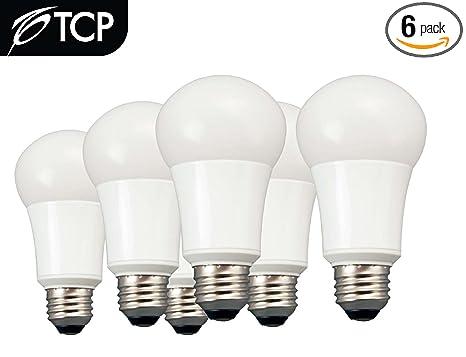TCP LA1027KND6 LED A19 - 60 Watt Equivalent Soft White (2700K) Light Bulb