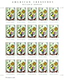 William H Johnson. American Treasures. Sheet 20 Forever Stamps Scott 4653 by USPS