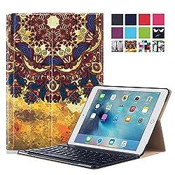 Apple iPad Pro 9.7 Case - ProElite Designer Smart Flip Case cover for Apple iPad Pro 9.7 [Sleep/Wake] (Design - Festival) [Keyboard not included]