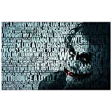 Poster4U The Joker Quote Poster (Print, 12 inch x 18 inch, PX377)