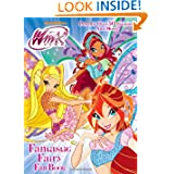 Fantastic Fairy Fan Book (Winx Club) (Full-Color Activity Book with Stickers)
