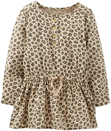 Carter'S Baby Girls' Print Tunic (Baby) - Leopard - 9 Months
