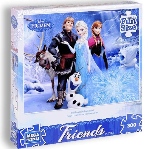 Frozen Disney Friends Eternal Winter 300 Piece Puzzle